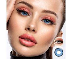 Die echt kontaktlinsen aussehen farbige Trend: Farbige